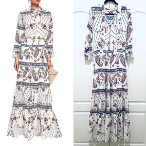 Melissa Odabash paisley maxi dress S